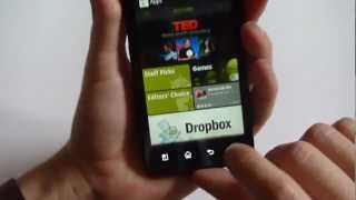 Download Review // LG Optimus Black 2.3.4 Update // English Video