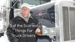 Download Top 5 Scary Things a Trucker Faces Video