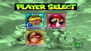 Download Mario Kart 64 - Part 1 - Mushroom Cup (3P) - Bowser (Davtoa), Mario (Mathtoa) & Donkey Kong (MC.Kid) Video