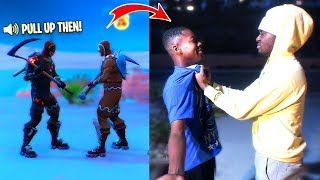 Download CONFRONTING a Fortnite Trash Talker FACE TO FACE! Fight? Video