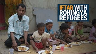Download Iftar with Rohingya refugees in India Video