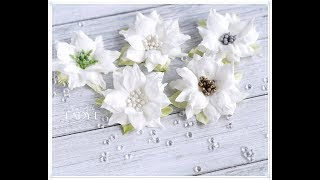 Download Simple Foamiran Poinsettia Flower Tutorial Video
