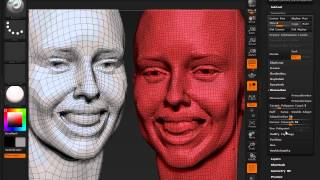 Download ZBrush 4R6: A Look At ZRemesher Video
