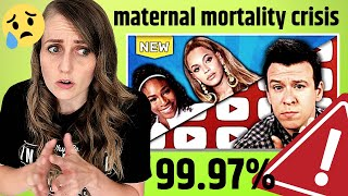 Download The REAL Numbers | ObGyn discusses US Maternal Mortality Crisis and Philip DeFranco's Video Video