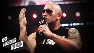 Download The Rock's Best Verbal Smackdowns: WWE Top 10 Video