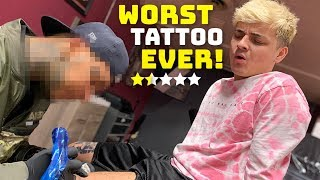 Download Getting A Tattoo From The Worst Reviewed Tattoo Shop In My City (1 STAR) Video