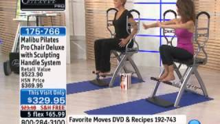 Download Malibu Pilates Pro Chair Deluxe with Sculpting Handle Sy... Video