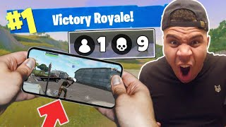 Download *WORLD RECORD* Insane Fortnite Mobile Gameplay ON PHONE!! (CRAZY KILLS) Video