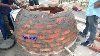 Download Construction of Brick Dome||ankit patel|| ||ankitpatel|| Video