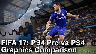 Download [4K] FIFA 17 PS4 Pro vs PS4 Graphics Comparison Video
