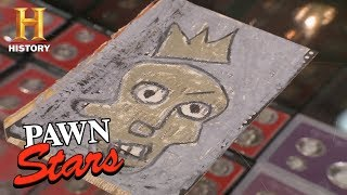 Download Pawn Stars: The Jean-Michel Basquiat Postcards | History Video