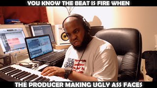 Download YOU KNOW THE BEAT IS FIRE WHEN THE PRODUCER MAKING UGLY ASS FACES Video