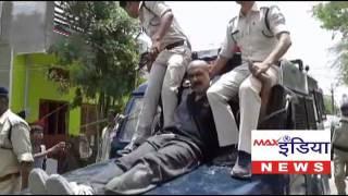 Download उज्जैन – महिदपुर मैं पुलिस ने निकाला गुंडे का जुलुस Video