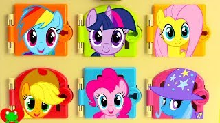 Download My Little Pony Trapped Learn Colors and Matching Video