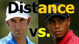 Download GOLF INSTRUCTION: How to Get More Distance: Dustin Johnson vs. Tiger Woods Video