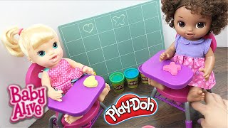 Download Baby Alive Doll Pre-School with My Life Desk, Sparkley Play Doh, and Chalk! Video