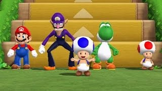 Download Mario Party 9 - Step It Up (Free-for-All Minigames) Video