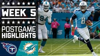 Download Titans vs. Dolphins | NFL Week 5 Game Highlights Video