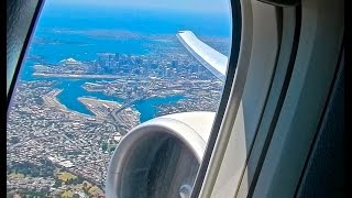 Download Air Canada Executive Class Sydney, Australia - Vancouver, Canada Video