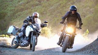Download Rags to Riches! Suzuki VanVan 200 vs. Ducati Multistrada 1200 Enduro - On Two Wheels Video