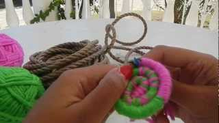 Download Indian basket weaving part 1 starting the base @catrionaakacat Video