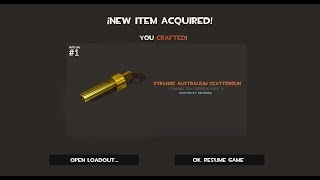 Download TF2: How to craft an Australium Scattergun Video
