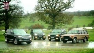 Download New Range Rover meets its ancestors - Auto Express Video