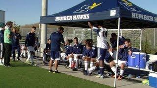 Download Men's Soccer - Humber Hawks vs Redeemer Royals Video