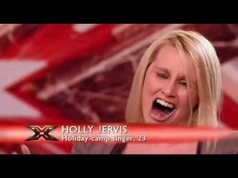 X Factor Worst Auditons - Big Mouth Holly Vs Simon Cowell