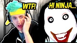 Download NINJA HEARS CREEPY VOICE IN FORTNITE! *SCARY* Fortnite SAVAGE & FUNNY Moments Video