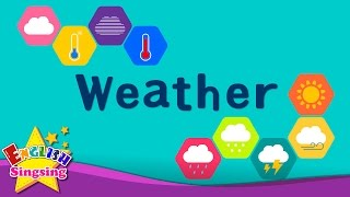Download Kids vocabulary - Weather - How's the weather? - Learn English for kids - English educational video Video