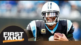 Download Max says Cam Newton should be NFL MVP candidate   First Take   ESPN Video
