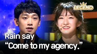 Download Youngest contestant's charisma makes Rain say, ″Come to my agency.″ [The Unit/2017.12.07] Video