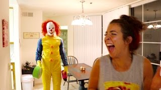 Download KILLER CLOWN SIGHTING IN HER APARTMENT!! Video