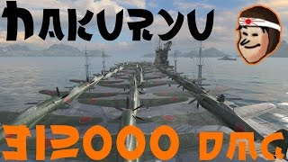 Download Hakuryu - World of Warships - 312K DMG CV replay Video