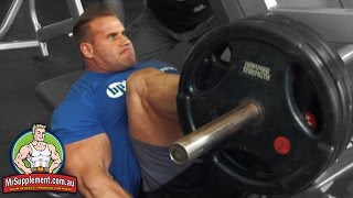 Download Jay Cutler's Leg Press - Exercise #3 Video