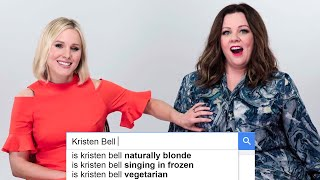Download Melissa McCarthy & Kristen Bell Answer The Web's Most Searched Questions | WIRED Video