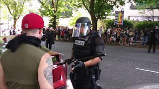 Download The Battle For Portland | Patriot Prayer Rally | Antifa Counter-Demonstration 8/4/2018 pt3 Video