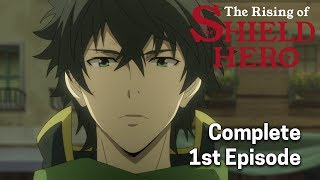 Download The Rising of the Shield Hero Ep. 1 Dub | The Shield Hero Video