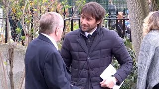 Download Sporting Stars Attend The Funeral Of Ray Wilkins Video