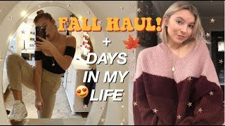 Download A FEW AUTUMN DAYS IN MY LIFE | TRY-ON HAUL & DRIVE WITH ME! Video