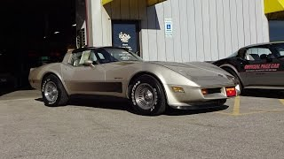 Download 1982 Chevrolet Chevy Corvette Collector Edition & Engine Sound on My Car Story with Lou Costabile Video