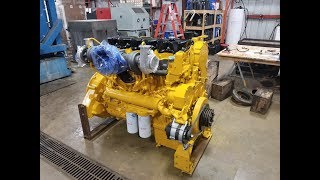 Download Caterpillar C-18 Rebuild Time Lapse Video