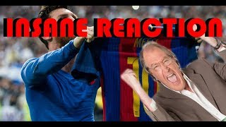 Download Ray Hudsons insane reaction to all goals in El Clásico 2017 Video