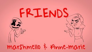 Download Marshmello & Anne-Marie - FRIENDS *OFFICIAL FRIENDZONE ANTHEM* Video
