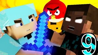 Download ANGRY MINECRAFT 9 (Herobrine Vs. Steve) Minecraft Animation Movie - Angry Birds Video