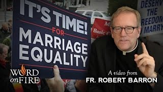 Download Bishop Barron on Gay Marriage & the Breakdown of Moral Argument Video