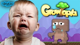 Download Growtopia | SCAMMING LITTLE KID [Gone Wrong] [Skype] Video