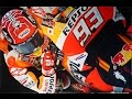 Download MotoGP 2017 Marquez Painting by Steve Nunez Video