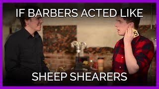 Download If Barbers Acted Like Sheep Shearers and Farmers Video